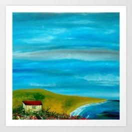 Solitary Sky's Art Print
