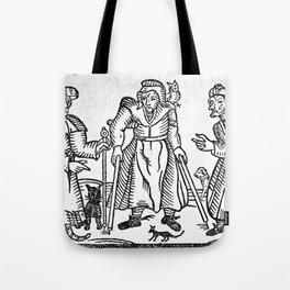 The Devil in Britain and America Tote Bag
