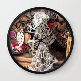 Yesterday Today Tomorrow Wall Clock