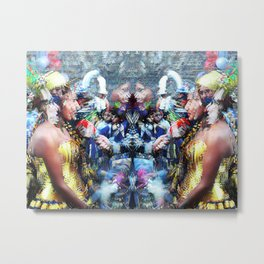 she speaks with tongues Metal Print