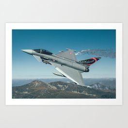 Austrian Eurofighter Art Print
