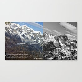 MOUNT EVEREST 003 Canvas Print