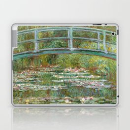 "Claude Monet ""Bridge over a Pond of Water Lilies"" Laptop & iPad Skin"