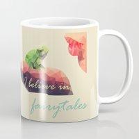fairy tale Mugs featuring Fairy tale by Rhena