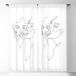 Be with you-B Blackout Curtain