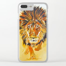 Relentless Pursuit Clear iPhone Case