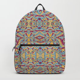 Multicolored Tribal Pattern Backpack