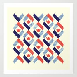 Dutch Tulip Art Print