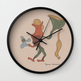 Megabille Wall Clock