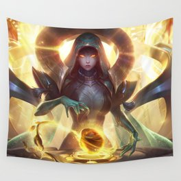 Odyssey Sona League Of Legends Wall Tapestry