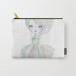 Pastel rainbow doll Carry-All Pouch