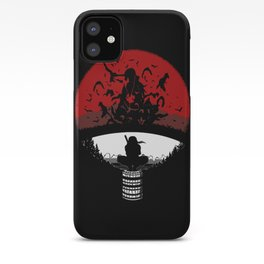 Uchiha Clan Silhouette iPhone Case