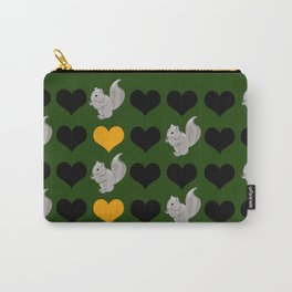 Squirrel Heart Carry-All Pouch
