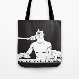Feel the Music with Stevie Wonder Tote Bag