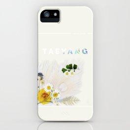 White Night Album - Taeyang Edition iPhone Case