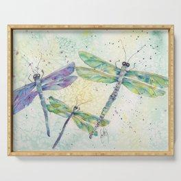 Xena's Dragonfly Serving Tray