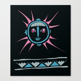 Elments-Fire/Sun Canvas Print