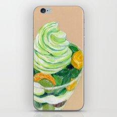 Matcha Parfait iPhone & iPod Skin