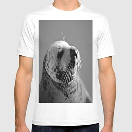 Howth Harbour Seal T-shirt