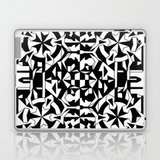 Black and White Square 1 Laptop & iPad Skin