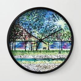 Charles River Wall Clock