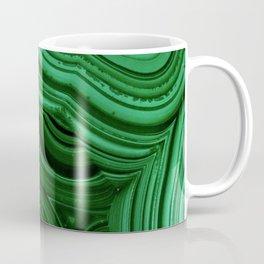 GREEN MALACHITE STONE PATTERN Coffee Mug