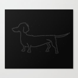 Doxie 2 Canvas Print