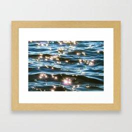 Take a Dip Framed Art Print