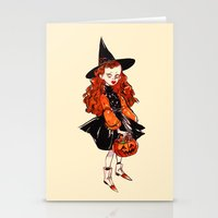 hocus pocus Stationery Cards featuring Hocus Pocus by Leslie Hung