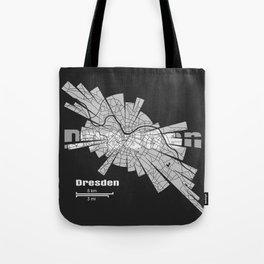Dresden Map Tote Bag