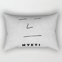 NYET! Rectangular Pillow