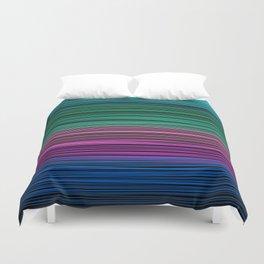 Rainbow thread , abstract pattern 1 Duvet Cover