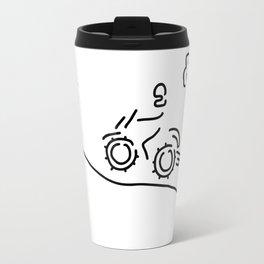 motorcycle sport offroad moto cross Travel Mug