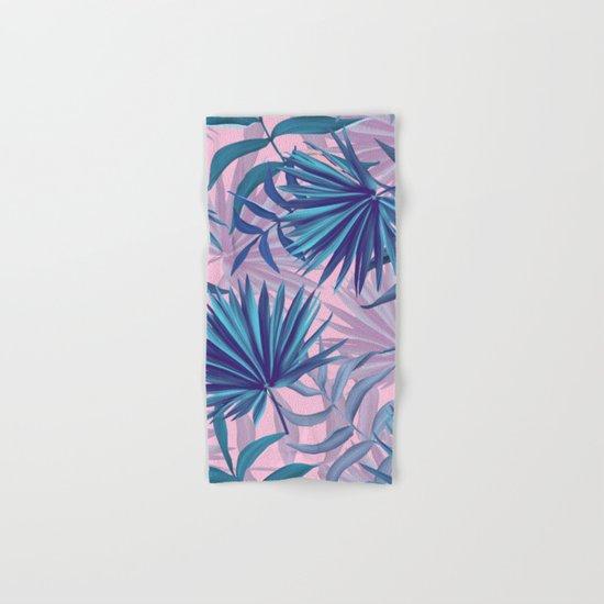 pink tropic  Hand & Bath Towel