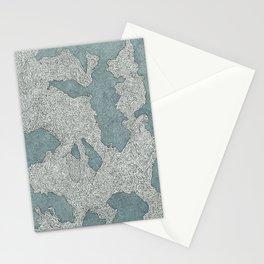 Murky Depths Stationery Cards