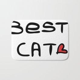 Best cat mom Bath Mat