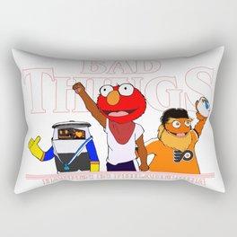 Bad Things Happen in Philadelphia Rectangular Pillow