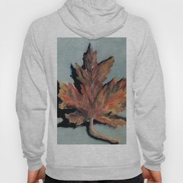 Leaf, Oil Painting by Luna Smith, Luart Gallery, autumn Hoody