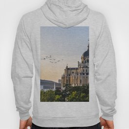 Almudena cathedral of Madrid Hoody