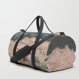 Tokuriki Tomikichiro Scenes of Sacred Places and Historic Landmarks Yamato Shigisan Shrine Duffle Bag