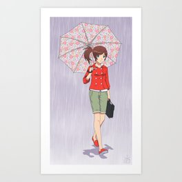 My Rainy Days Art Print