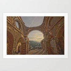 Castle Overlook Art Print