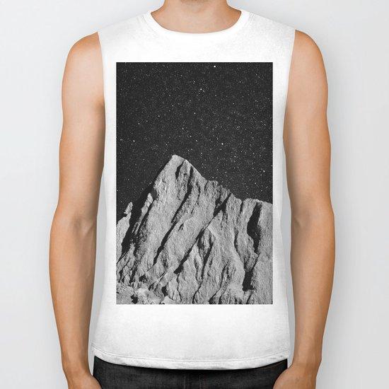interstellar landscape Biker Tank