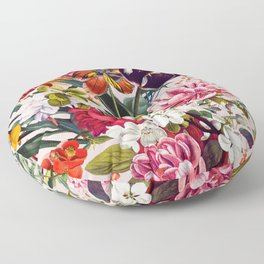 Exotic Garden - Summer Floor Pillow