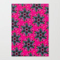pop pattern_christmas Canvas Print