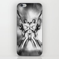 angels iPhone & iPod Skins featuring Angels by haroulita