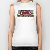 cargline Biker Tanks featuring Road Trip by cargline
