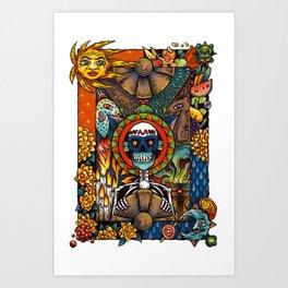 Por los muertos Art Print