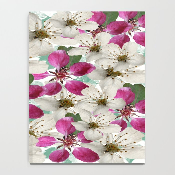 Spring Blossoms Abstract  Notebook