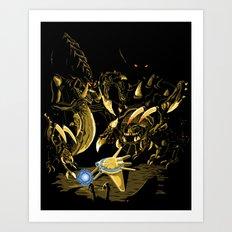 Zergs are FASTEST Art Print